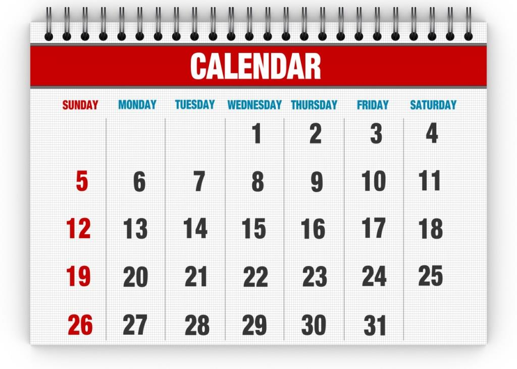 This calendar will soon be filled with JBQ meets, practices, and other fun events.